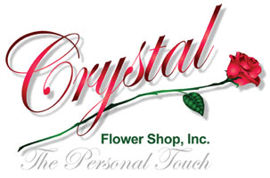 Crystal Flower Shop in Chicago, Illinois. 800-444-0037 or 773-247-6117