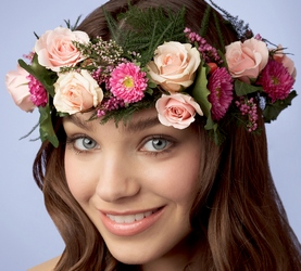 Lila Rose Headpiece in Chicago at Crystal Flower Shop