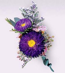 FTD Purple Dusk Boutonniere in Chicago at Crystal Flower Shop
