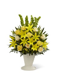 The FTD Golden Memories(tm) Arrangement in Chicago at Crystal Flower Shop