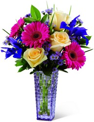 The FTD Hello Happiness Bouquet in Chicago at Crystal Flower Shop
