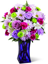 The FTD Purple Pop Bouquet in Chicago at Crystal Flower Shop
