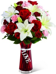 The FTD Expressions of Love Bouquet in Chicago at Crystal Flower Shop
