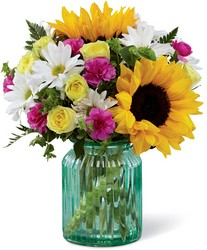 The FTD Sunlit Meadows Bouquet by Better Homes and Gardens in Chicago at Crystal Flower Shop