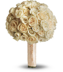 Blush Rose Bouquet in Chicago at Crystal Flower Shop