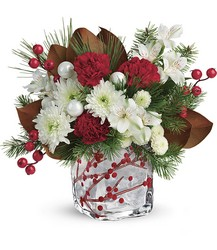 Teleflora's Wondrous Winterberry Bouquet in Chicago at Crystal Flower Shop