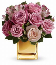 A Radiant Romance by Teleflora in Chicago at Crystal Flower Shop