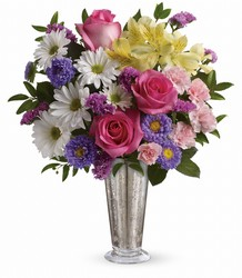 Smile And Shine Bouquet by Teleflora in Chicago at Crystal Flower Shop