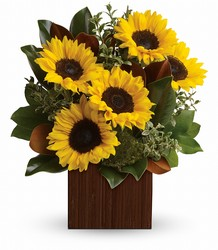 You're Golden Bouquet by Teleflora in Chicago at Crystal Flower Shop