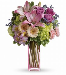Teleflora's Artfully Yours Bouquet in Chicago at Crystal Flower Shop