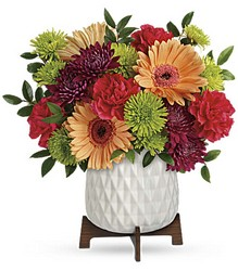 Mid Mod Brights Bouquet in Chicago at Crystal Flower Shop